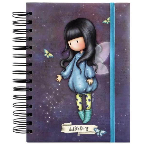 "GORJUSS ORGANISATIONAL NOTEBOOK ""Bubble Fairy"" – 201GJ10 ΓΡΑΦΙΚΗ ΥΛΗ / ΣΧΟΛΙΚΑ alfavitari.com"